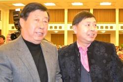 中国美协主席刘大为与张惠民画家